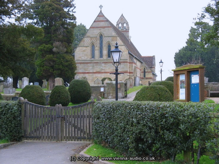 Church Sound Systems Installation - Grade 1 Listed Colemere and Lyneal Church, Shropshire