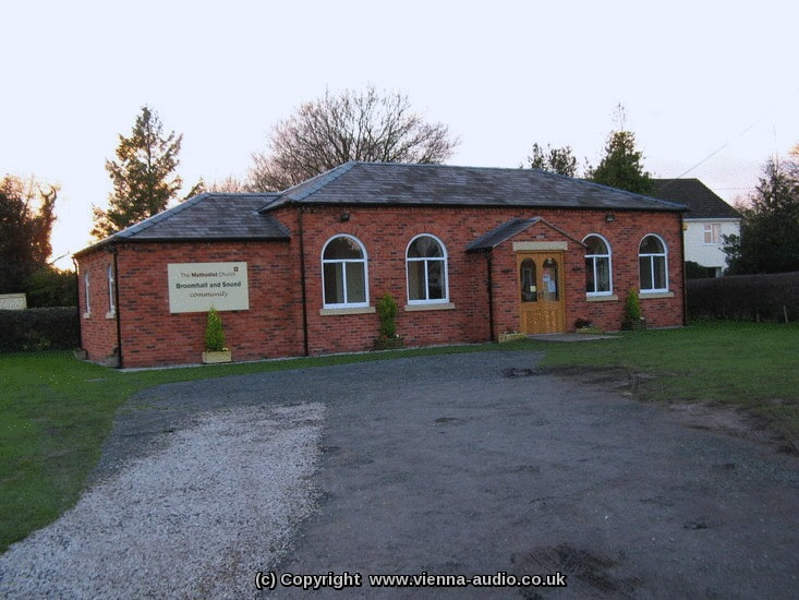 Church Sound Systems Installation - Broomhall and Sound Methodist Church, Nantwich, in Cheshire, Shropshire, Wirral, North Wales